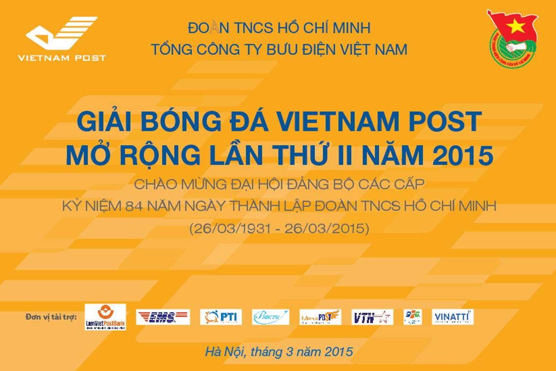 Chiều ngày 28/3, Giải bóng đá Vietnam Post mở rộng lần thứ 2 sẽ chính thức khởi tranh tại sân vận động PVV, Dịch Vọng, Cầu Giấy, Hà Nội. Giải đấu có sự góp mặt của 13 đội bóng đến từ các đơn vị trong...